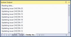 Synchronization log.
